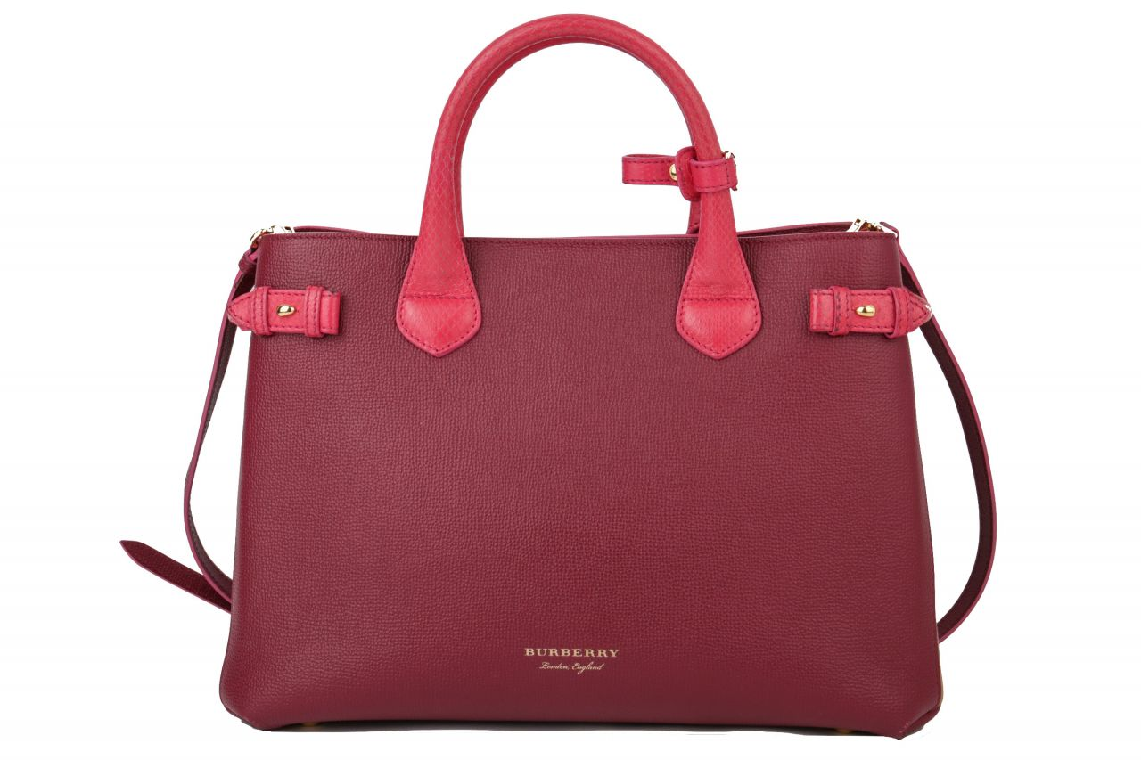 Burberry The Banner Bag Pink