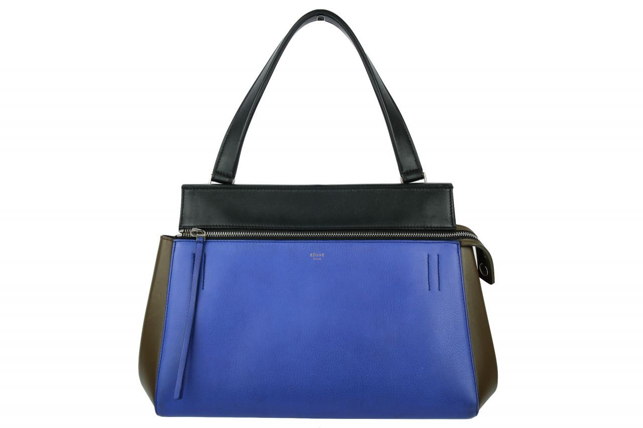 Céline Edge Small Multicolor Blue