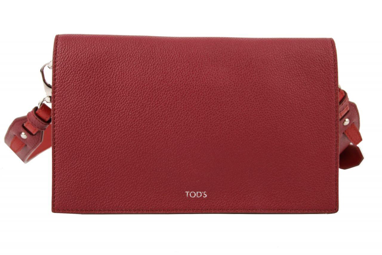 Tod's Crossbody Bag Leather Bordeaux