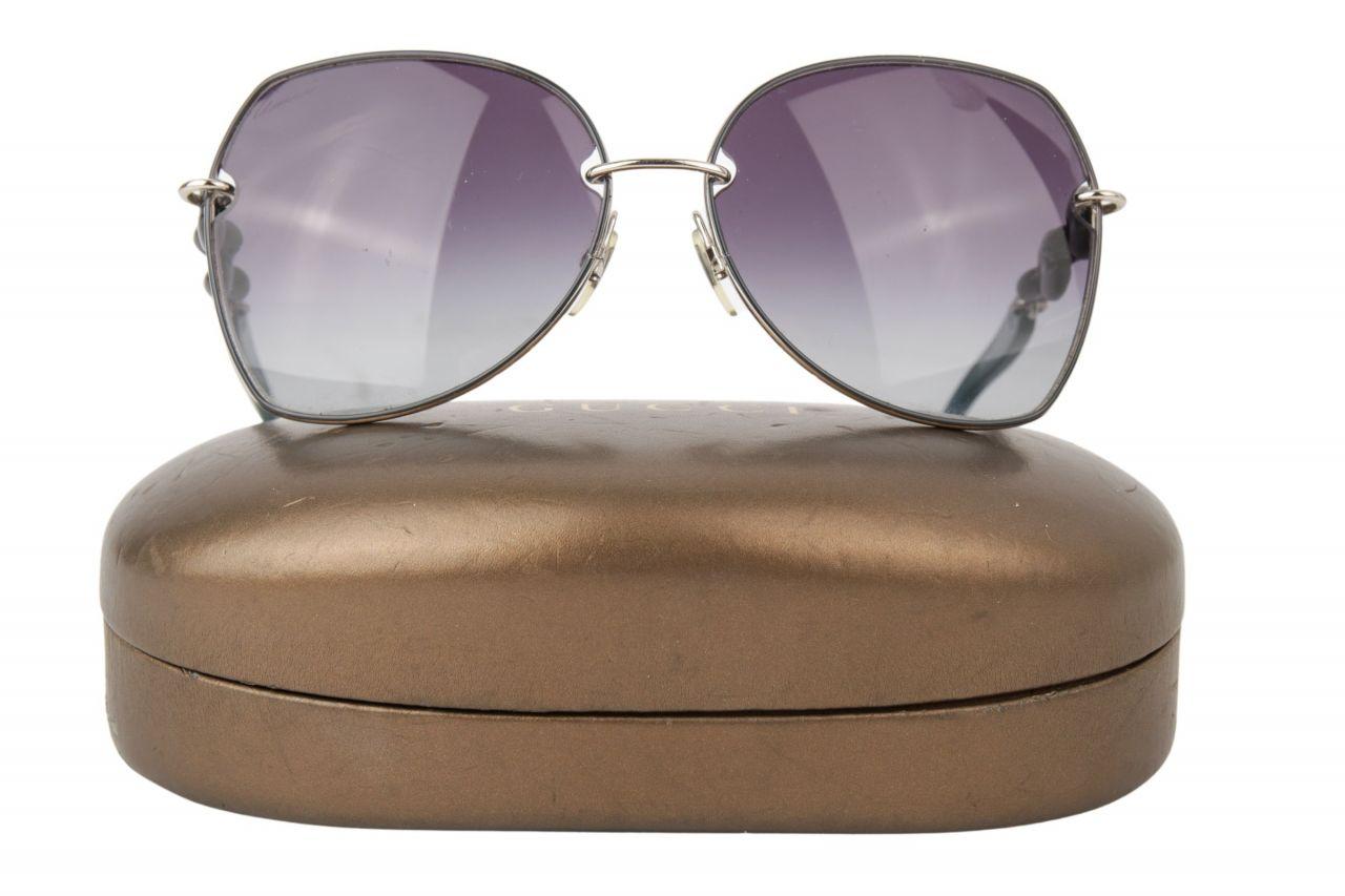 Gucci Sonnenbrille Blau