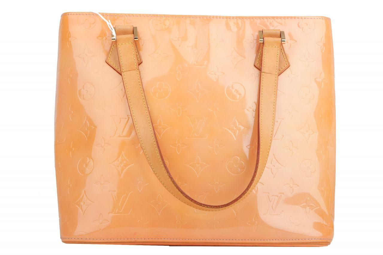 Louis Vuitton Houston Monogram Vernis Apricot