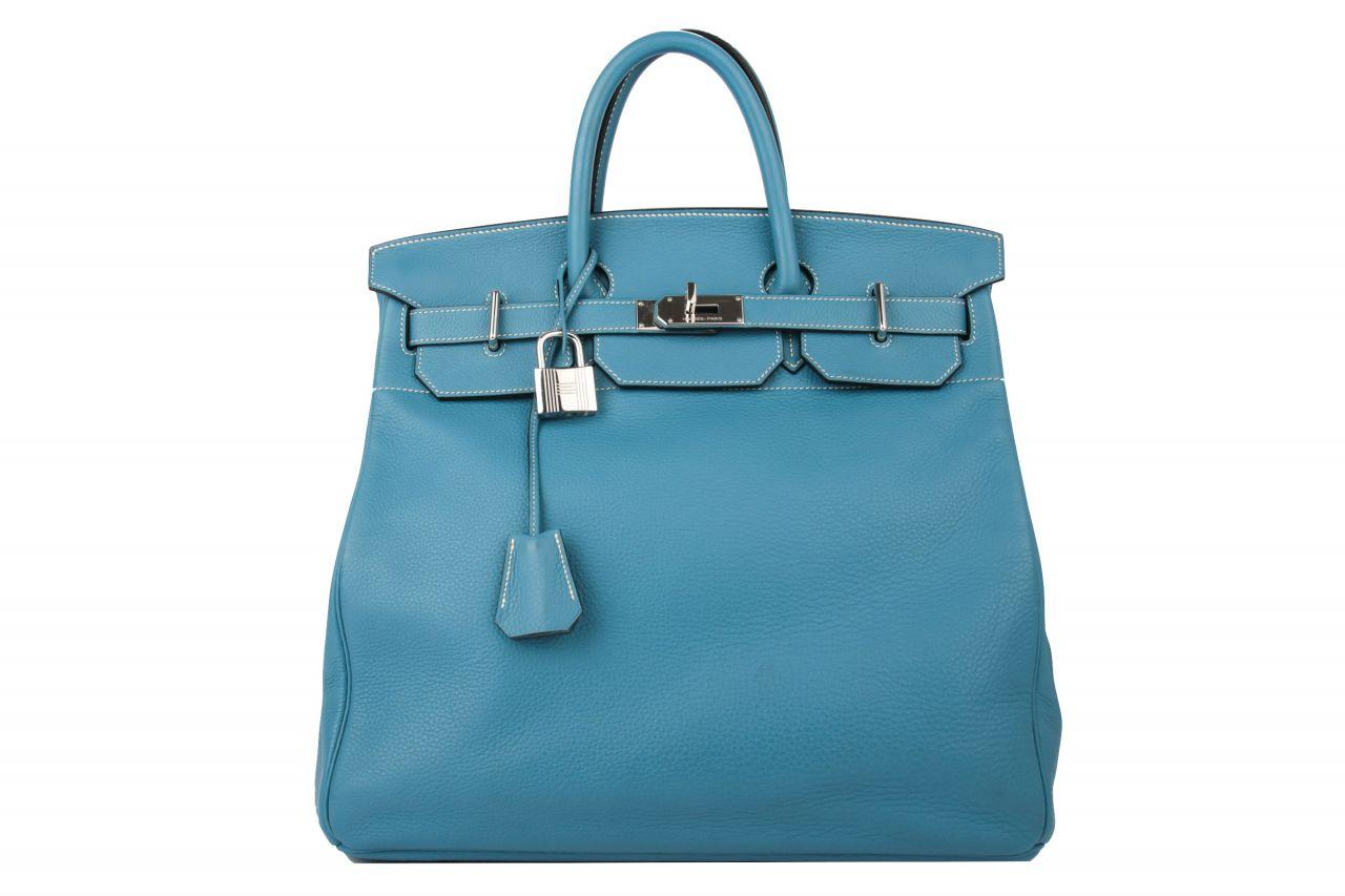 Hermès Hac 40 Jeans Bleu Togo