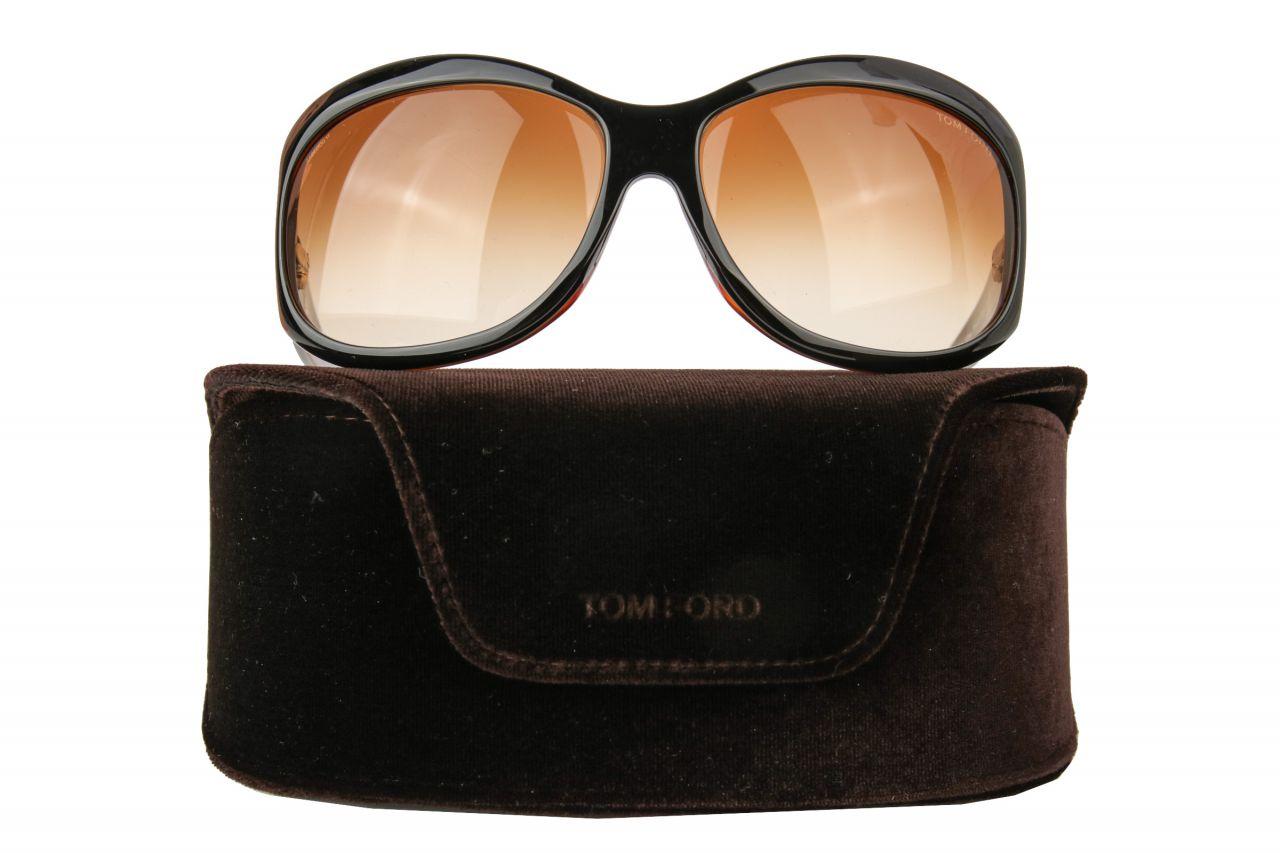 Tom Ford Fiona Sonnenbrille Braun