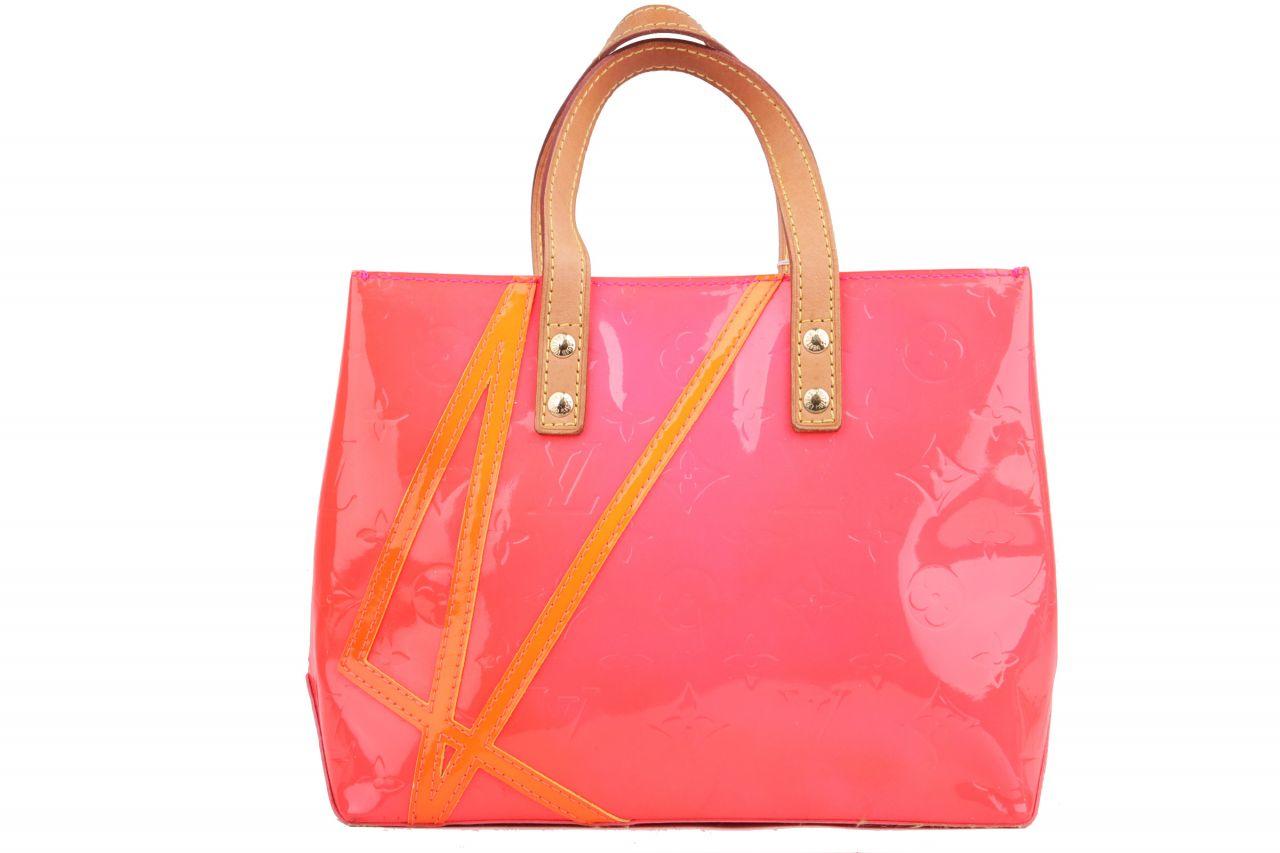 Louis Vuitton Reade PM Monogram Vernis Neon Pink