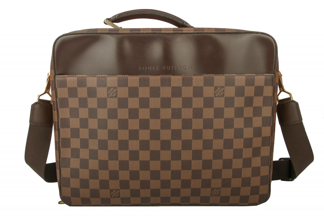 Louis Vuitton Laptoptasche Damier Ebene Canvas
