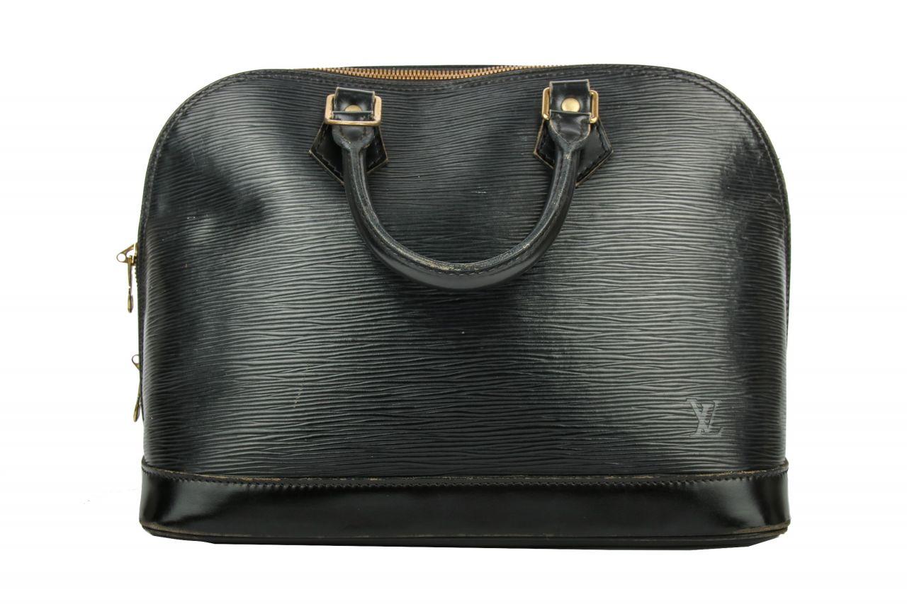 Louis Vuitton Alma PM Epi Leather Black