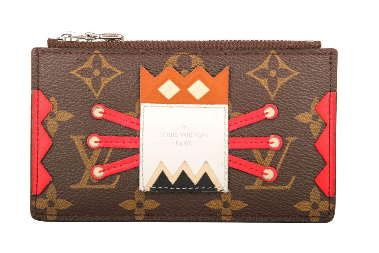 Louis Vuitton Limited Schlüsseletui Monogram Canvas mit Monster