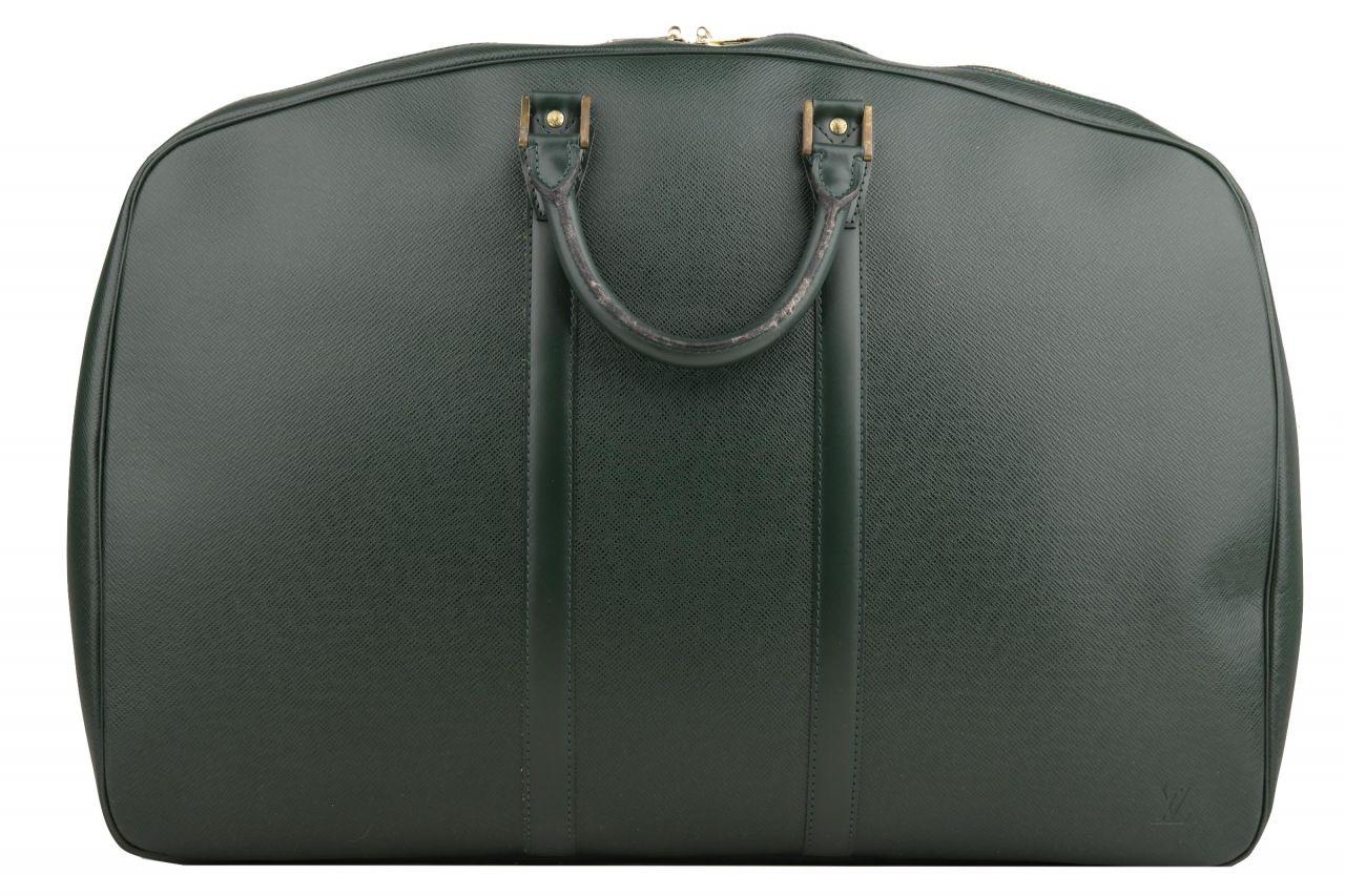 Louis Vuitton Helanga 55 Taiga Leather Green