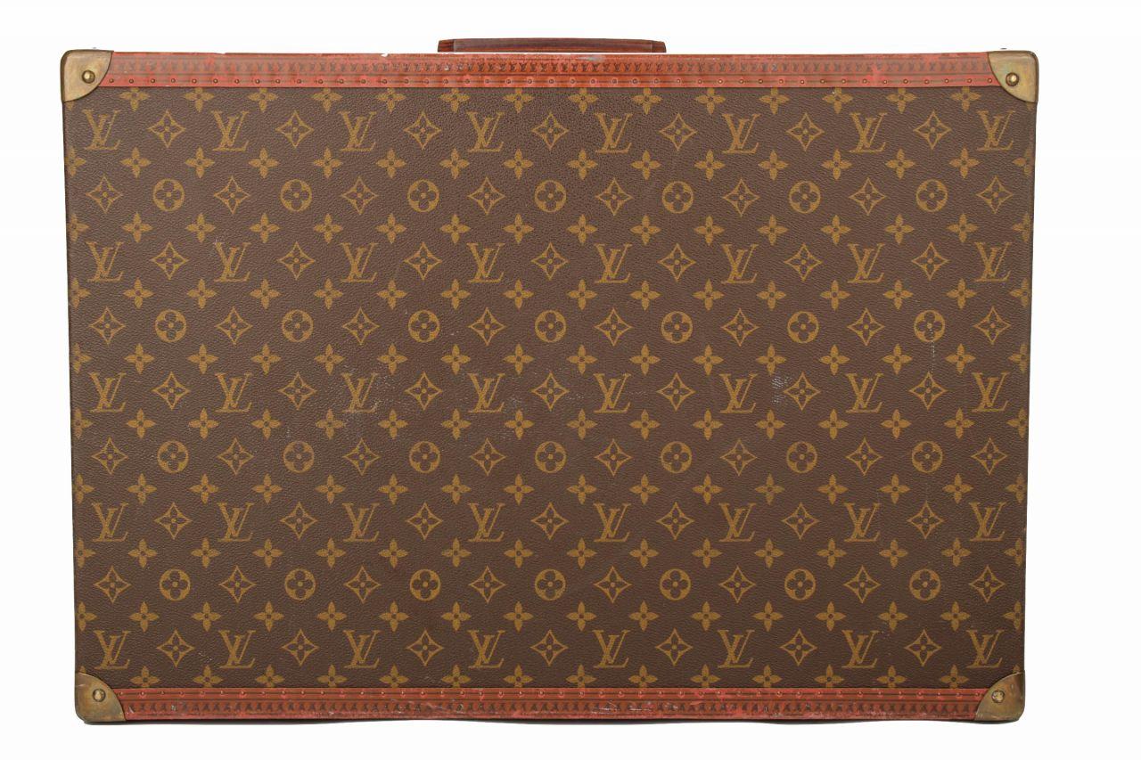 Louis Vuitton Vintage Koffer Bisten 60 Monogram Canvas
