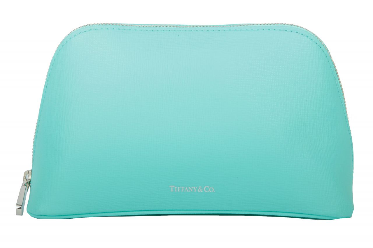 Tiffany & Co. Kosmetiktasche Türkis
