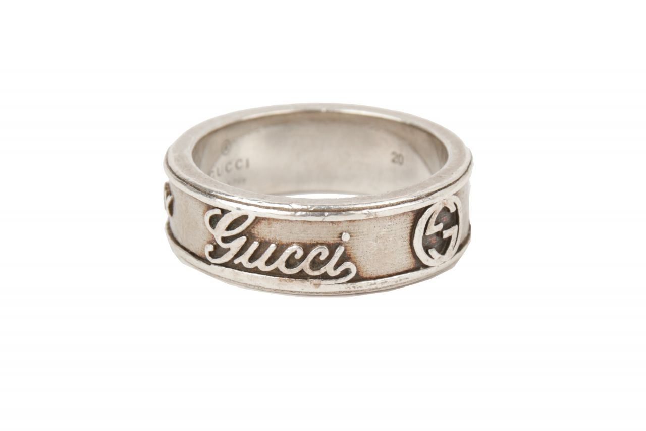 Gucci Ring Silber