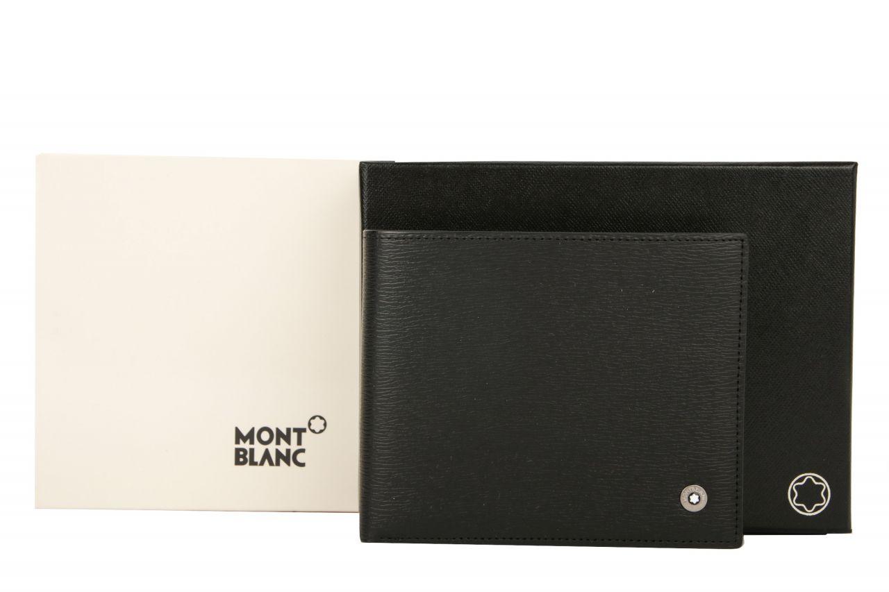 Montblanc Westside Brieftasche schwarz