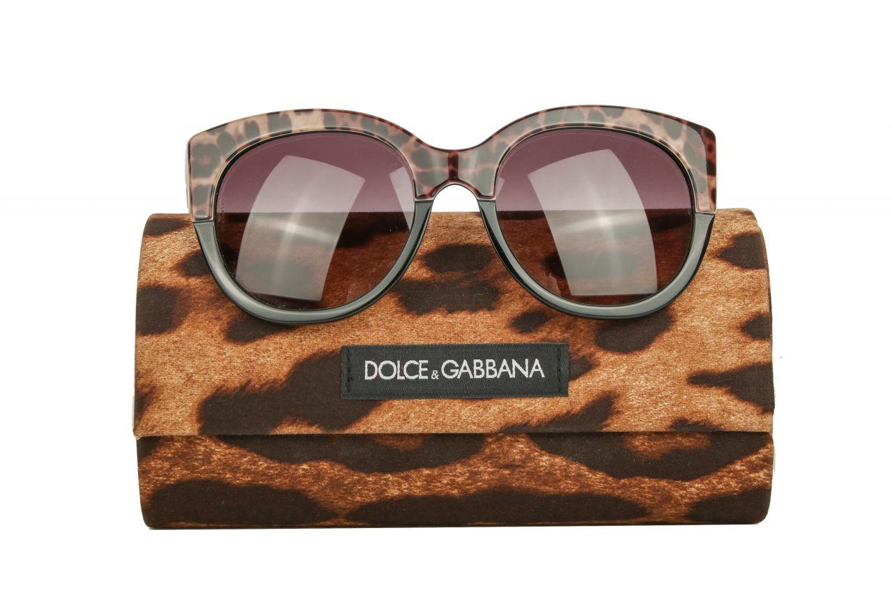 Dolce & Gabbana Sonnenbrille Leo-Look