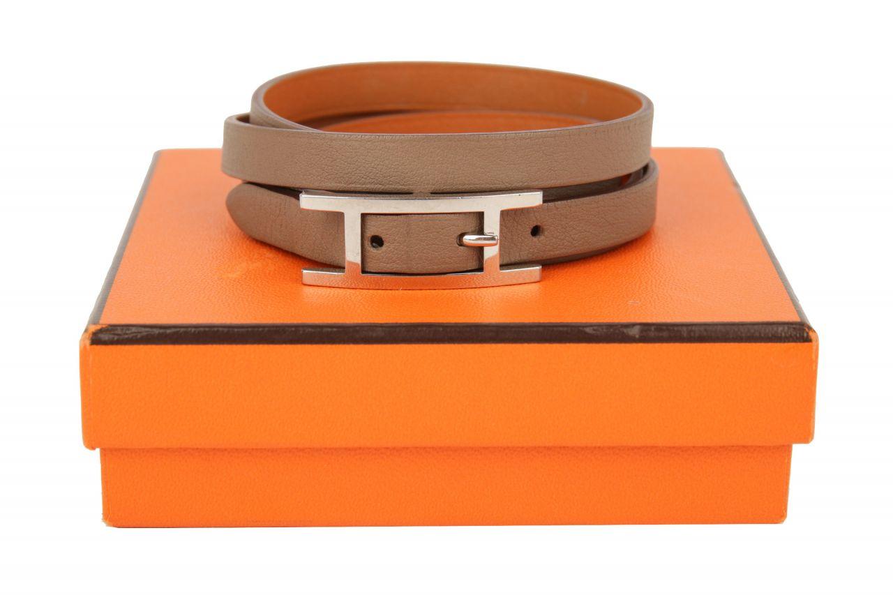 Hermès Hapi Armband Etoupe Gr. M