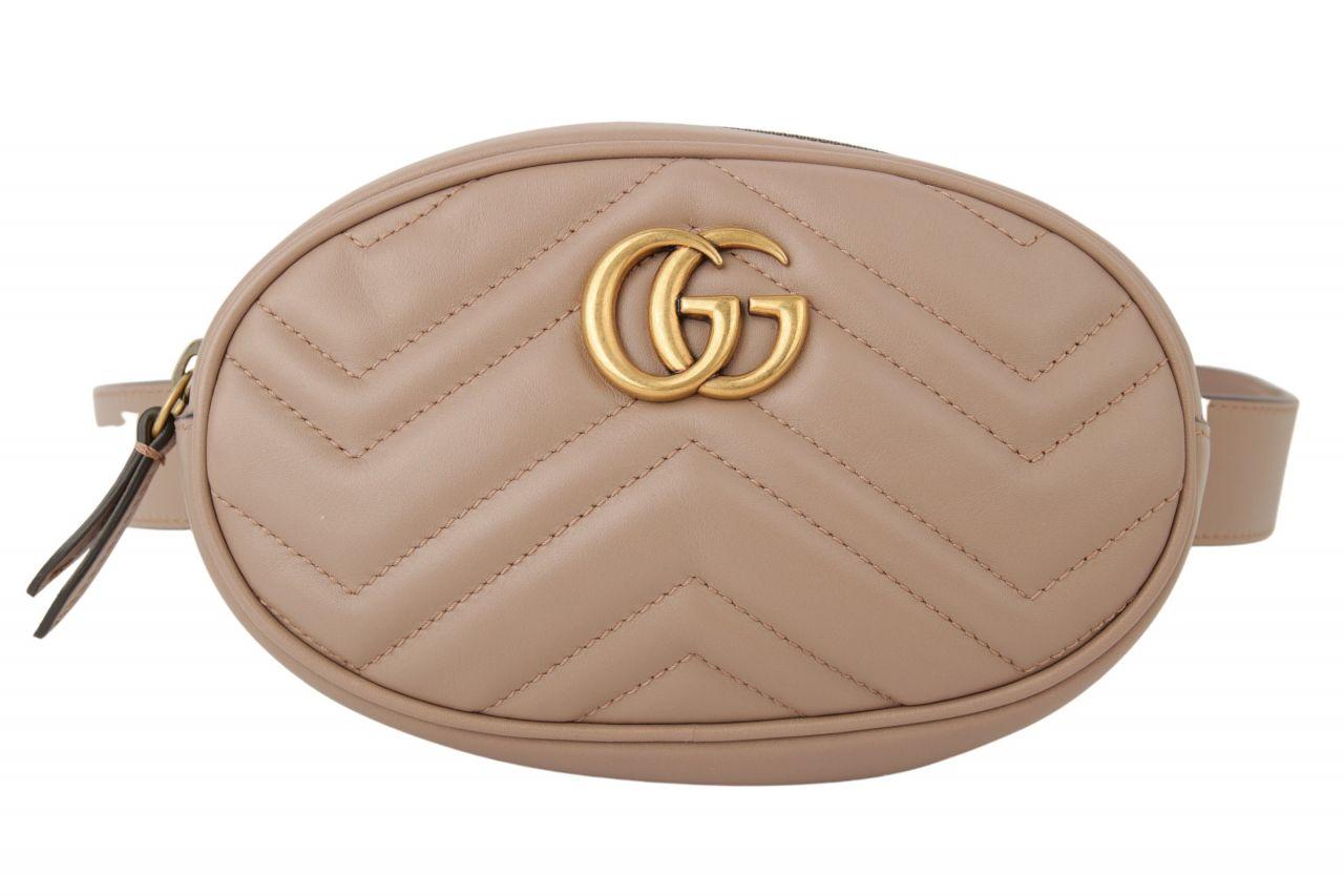 Gucci Marmont Belt Bag Rosa