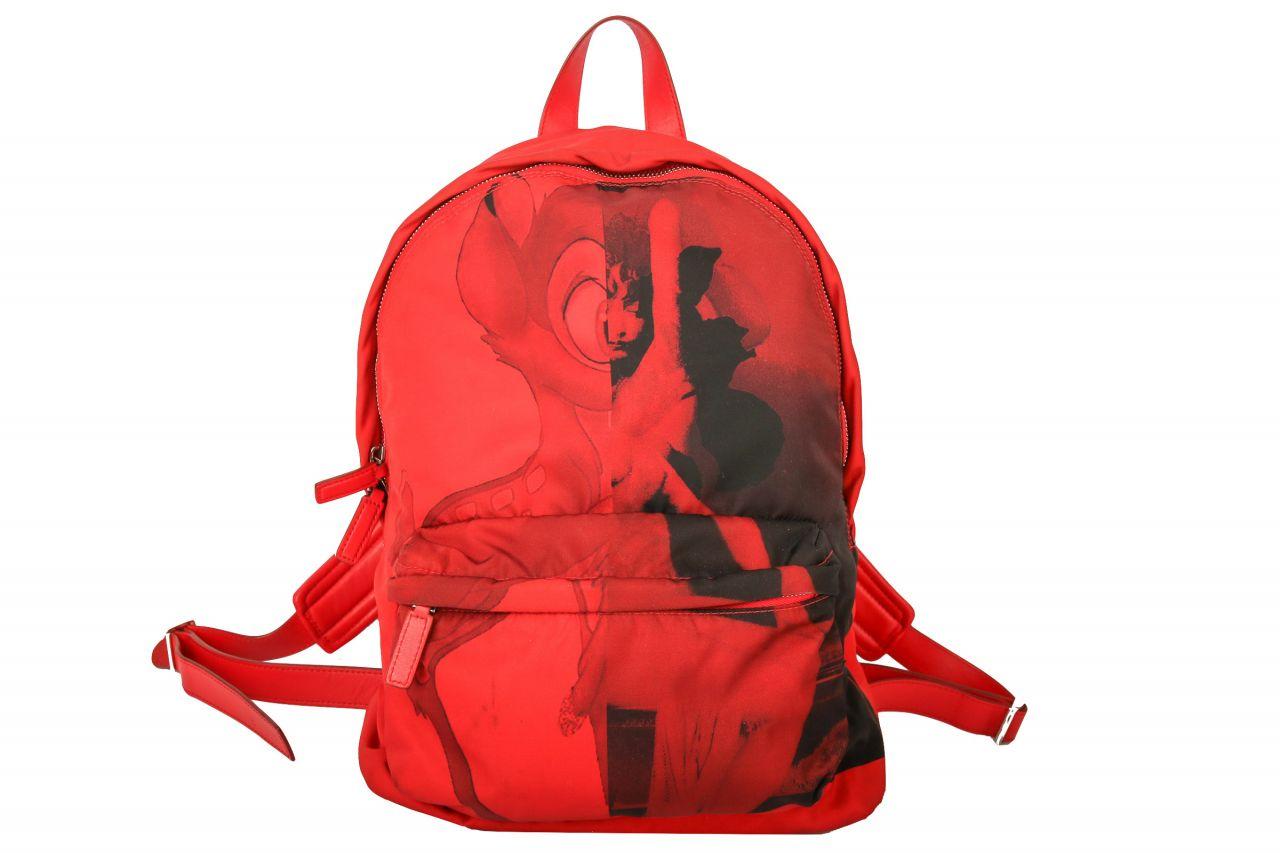 Givenchy Bag Pack Bambi Print Red