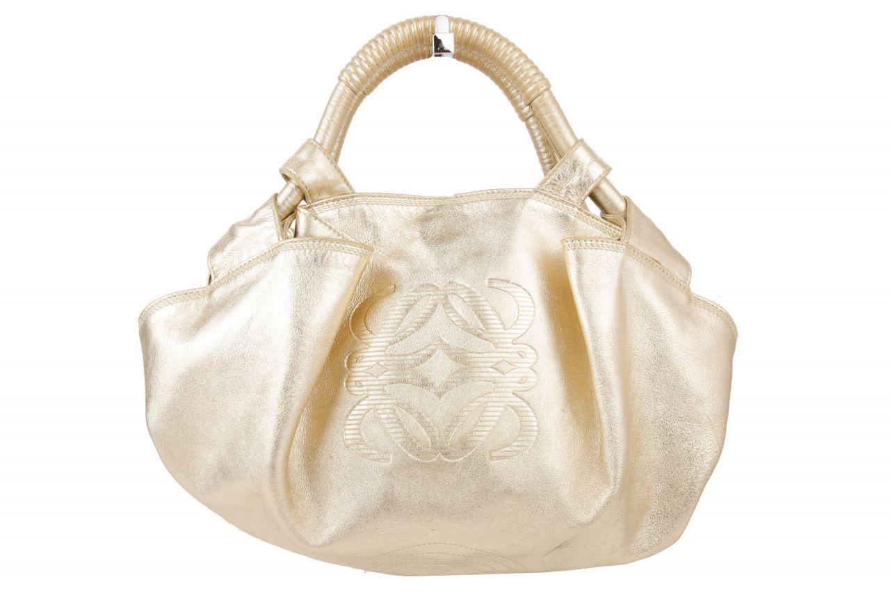 Loewe Handtasche Metallic Gold