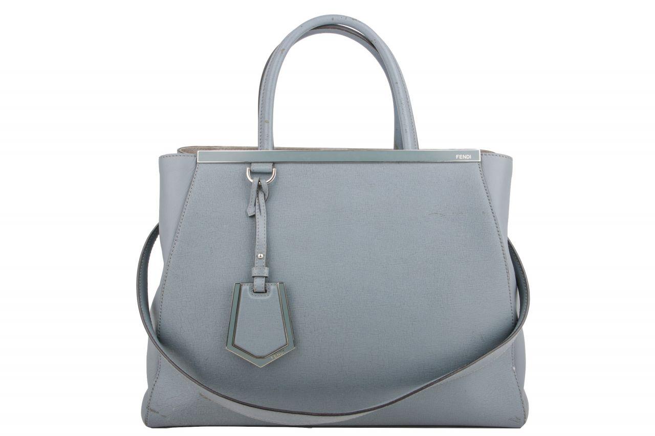 Fendi 2Jours Tote Bag Blue
