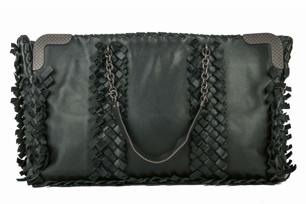 Bottega Veneta Handtasche in schwarz