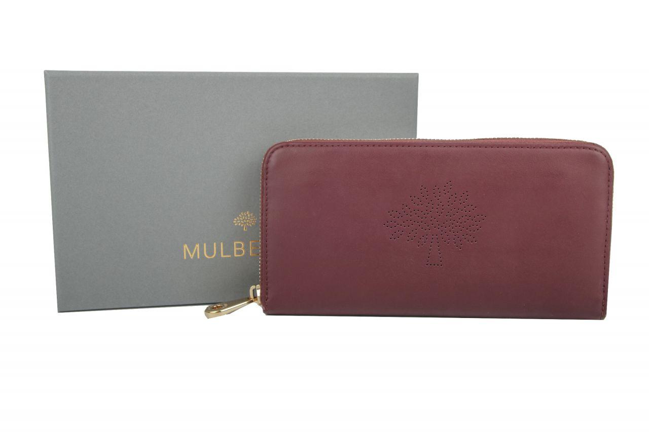 Mulberry Geldbörse Weinrot