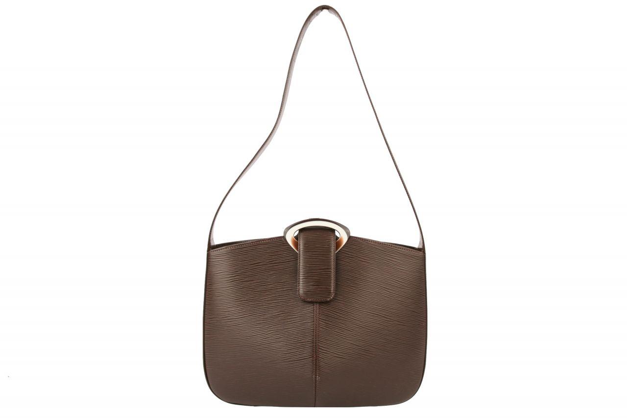 Louis Vuitton Epi Leder Riviera Bag Dunkelbraun