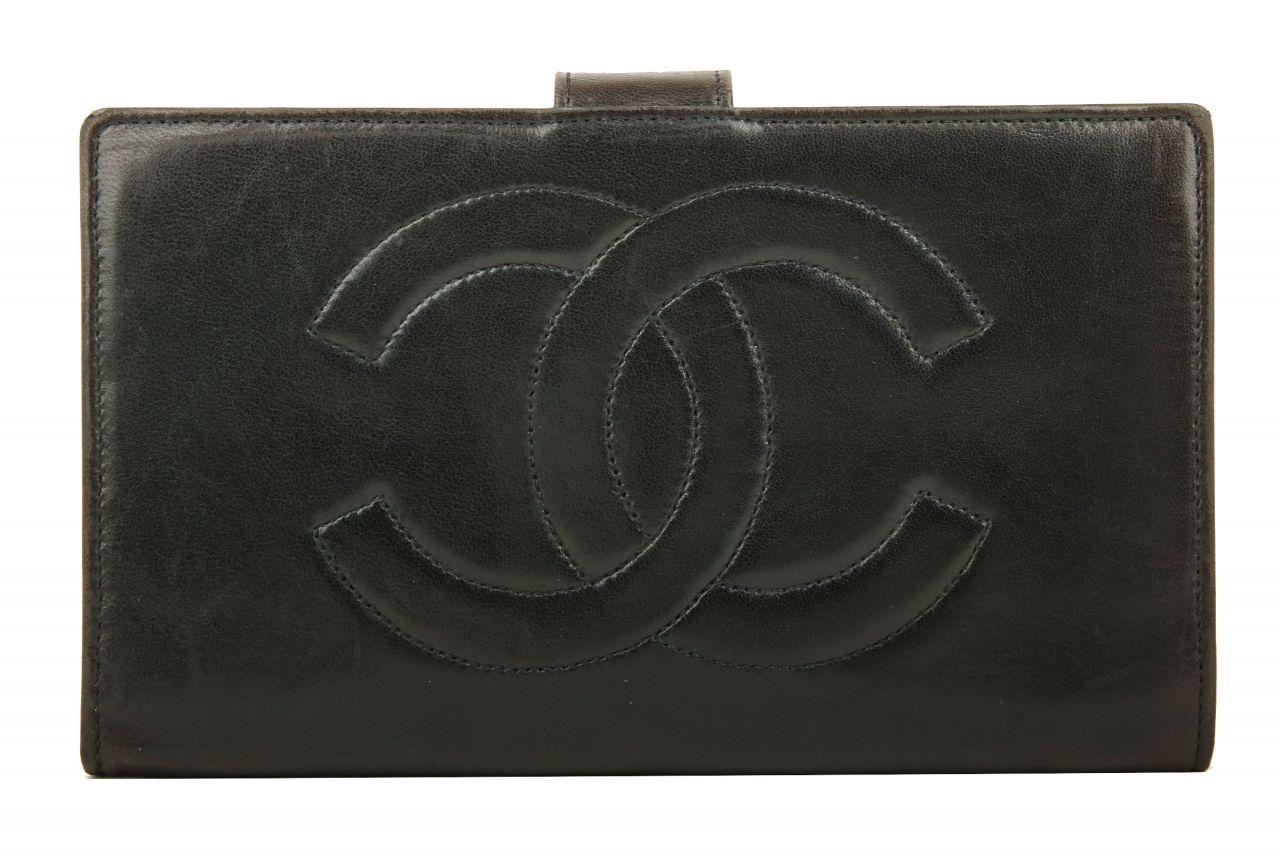 Chanel Portemonnaie Schwarz