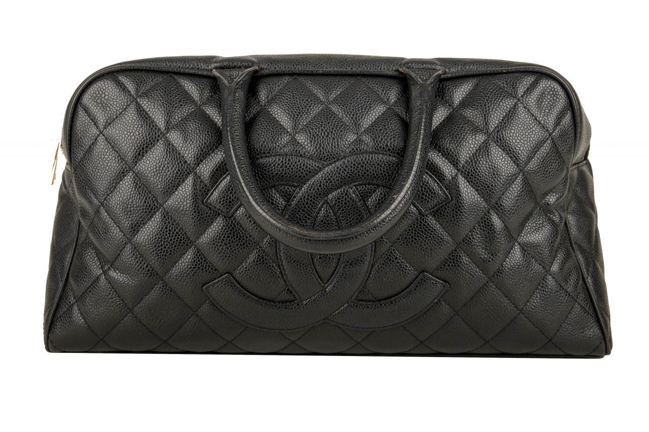 Chanel Bowling Bag Black