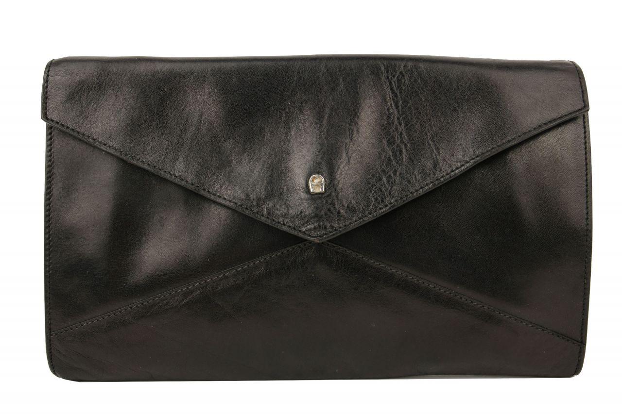 Aigner Clutch Envelope Black