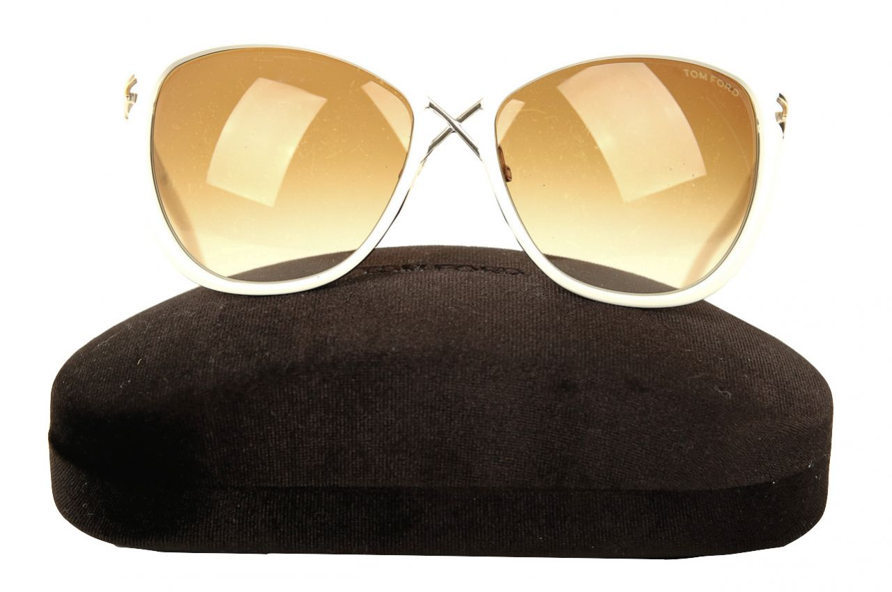 Tom Ford Sonnenbrille Celia Creme/Beige