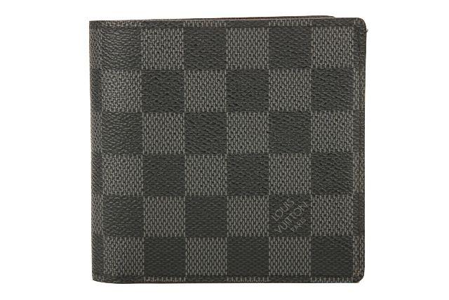 Louis Vuitton Wallet Damier Graphite Canvas