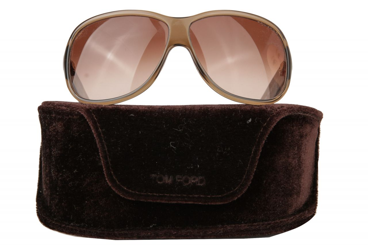 Tom Ford Hutton Sonnenbrille Braun