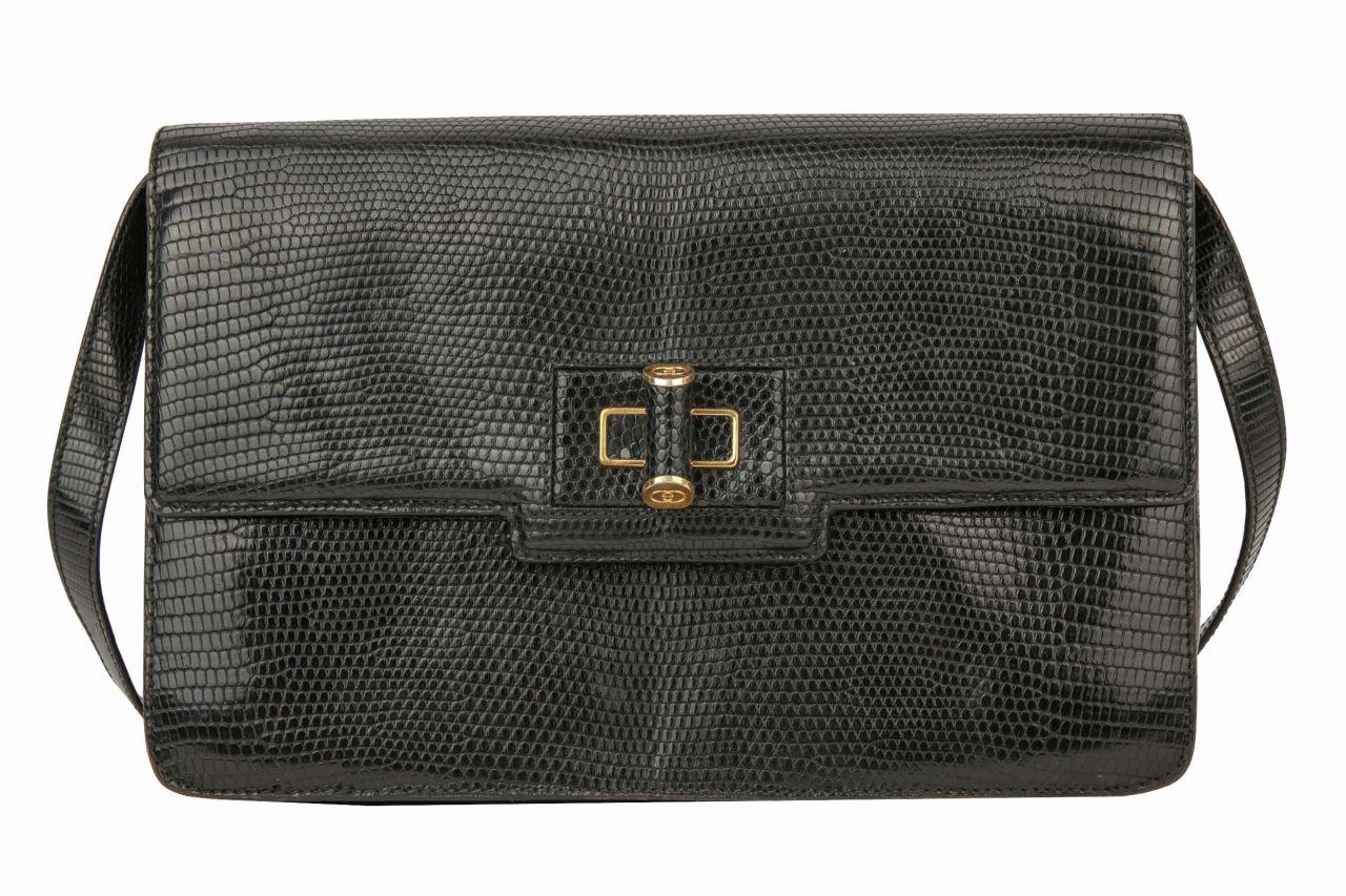 Gucci Vintage Bag Schwarz