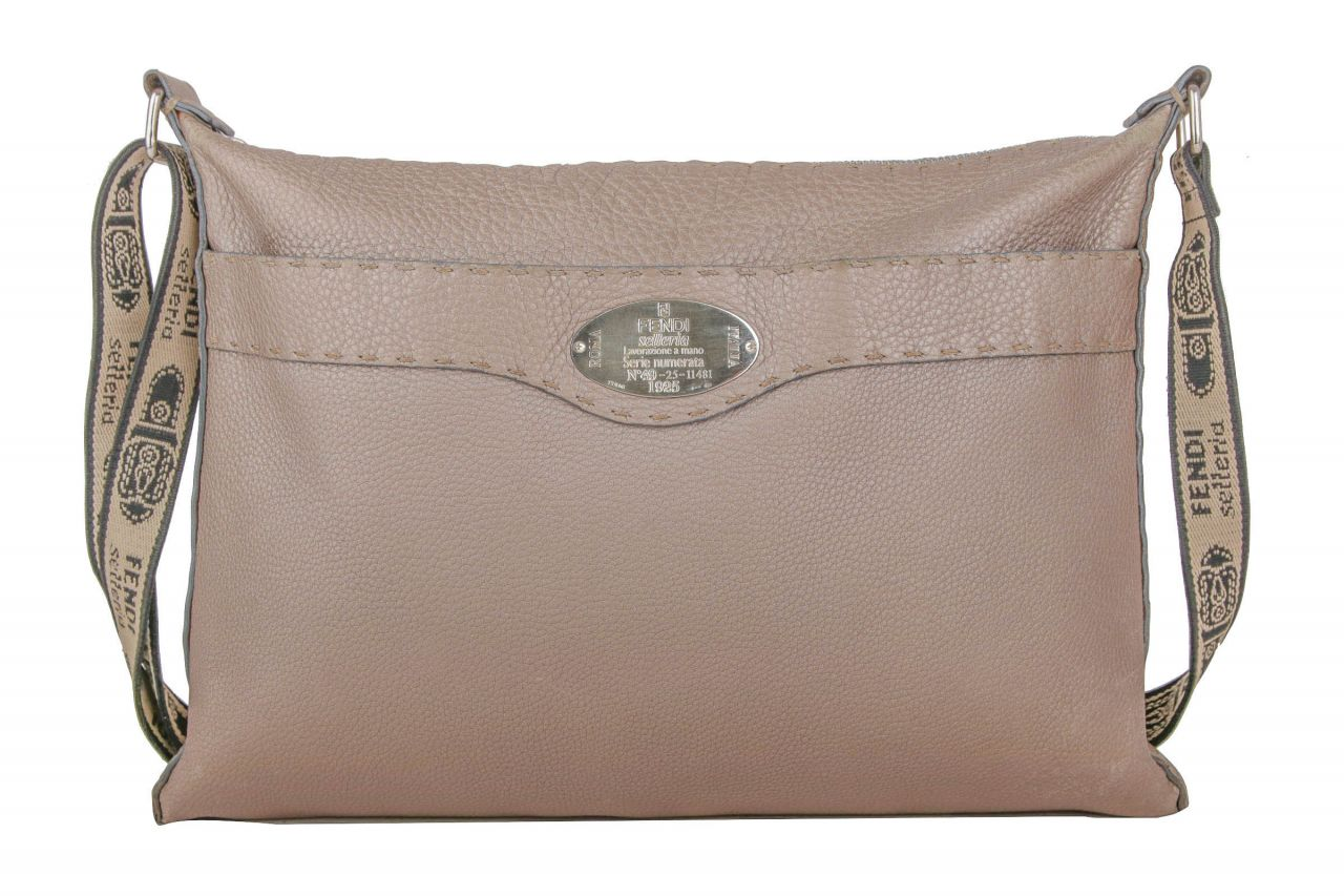 Fendi Crossbody Bag Metallic